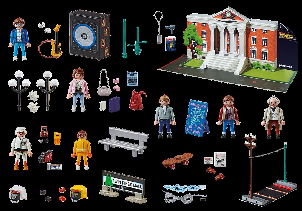 "Playmobil 70574 - ""Back to the Future"" Advent calendar - Back"
