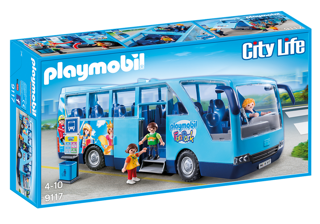 Playmobil 9117 - Funpark Bus - Box