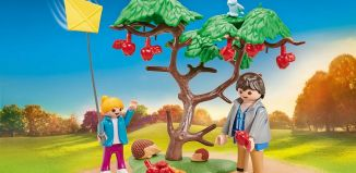 Playmobil - 9863 - Autumn walkers