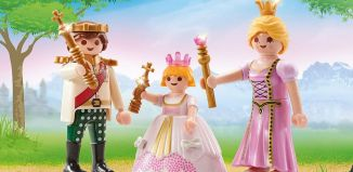 Playmobil - 9877 - Royal couple and child