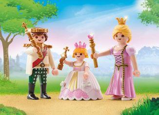 Playmobil - 9877 - Royal couple and child