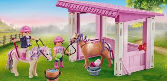 Playmobil - 9878 - Riders with poneys