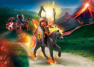 Playmobil - 9882 - Firehorse with rider