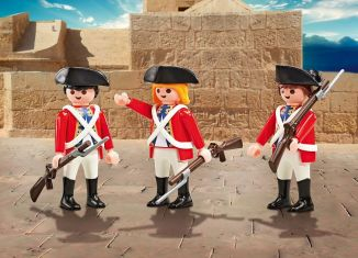 Playmobil - 9886 - 3 soldiers