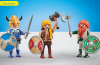 Playmobil - 9893 - 3 vikings