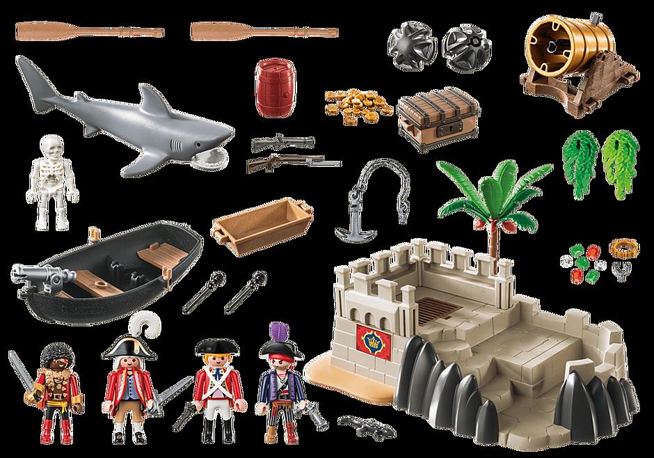Playmobil 70413 - Redcoat Bastion - Back