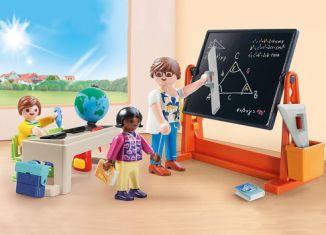 Playmobil - 70314-usa -  school briefcase