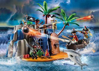 Playmobil - 70556 - Pirate Treasure Island