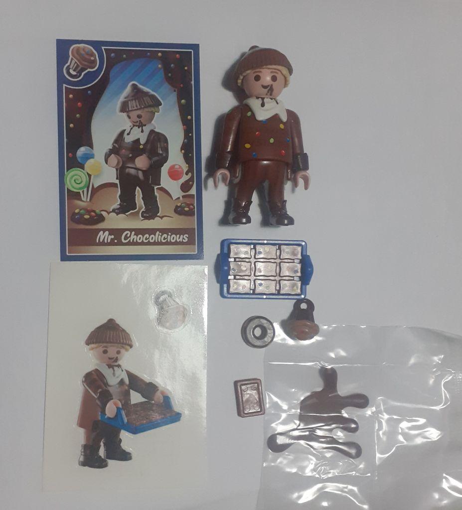 Playmobil 70389V5 - Mr. Chocolicious - Back