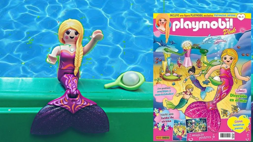 Playmobil PLAYMOBIL PANNINI 06 ROSA -  beautiful mermaid - Box