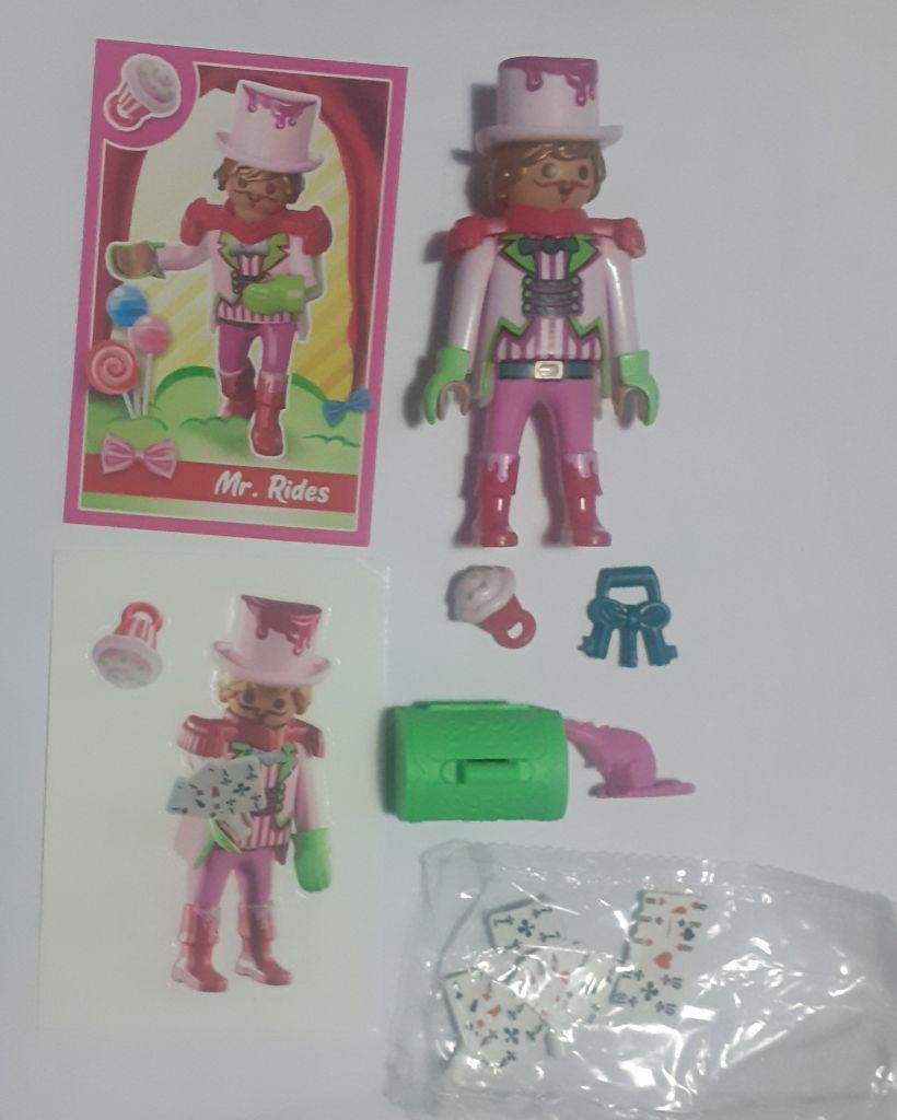 Playmobil 70389V6 - Mr. Rides - Back