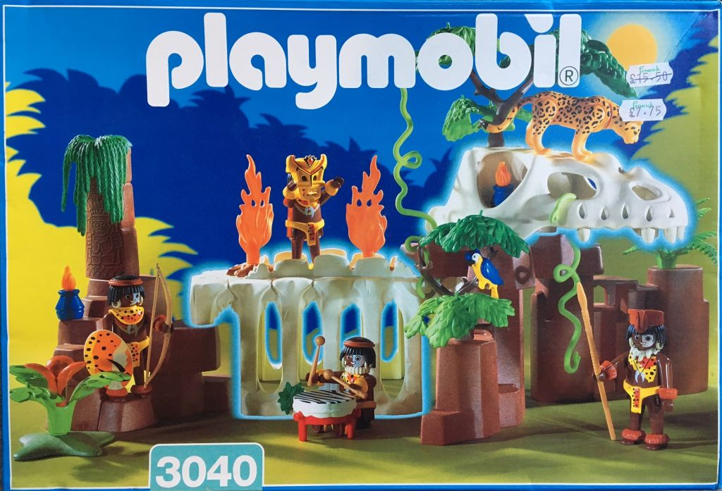 Playmobil 3040 - Dinosaur Dungeon - Box