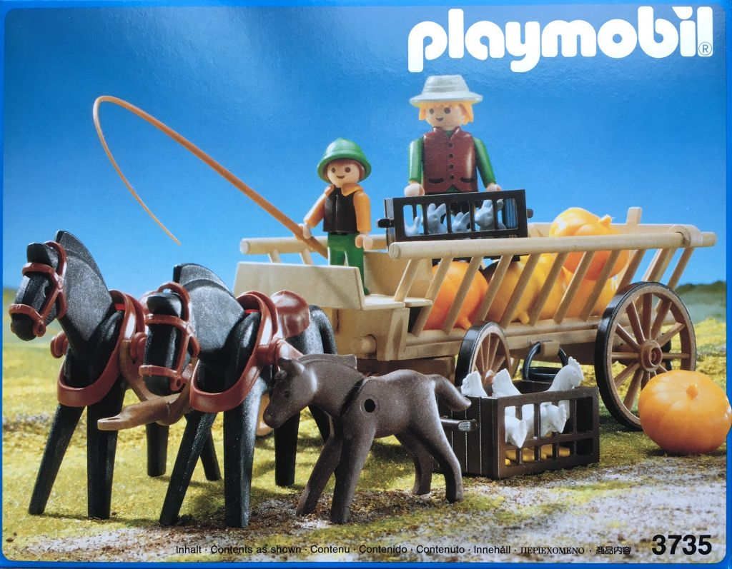 Playmobil 3735 - Harvest Cart - Box