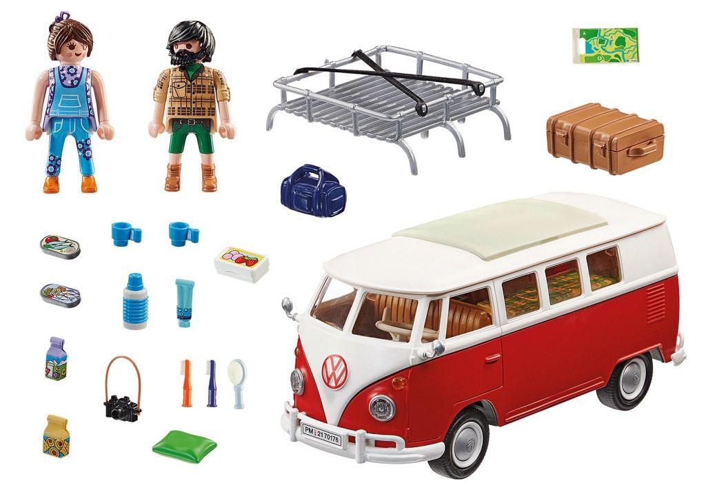 Playmobil 70176 - Volkswagen T1 Camping Bus - Back