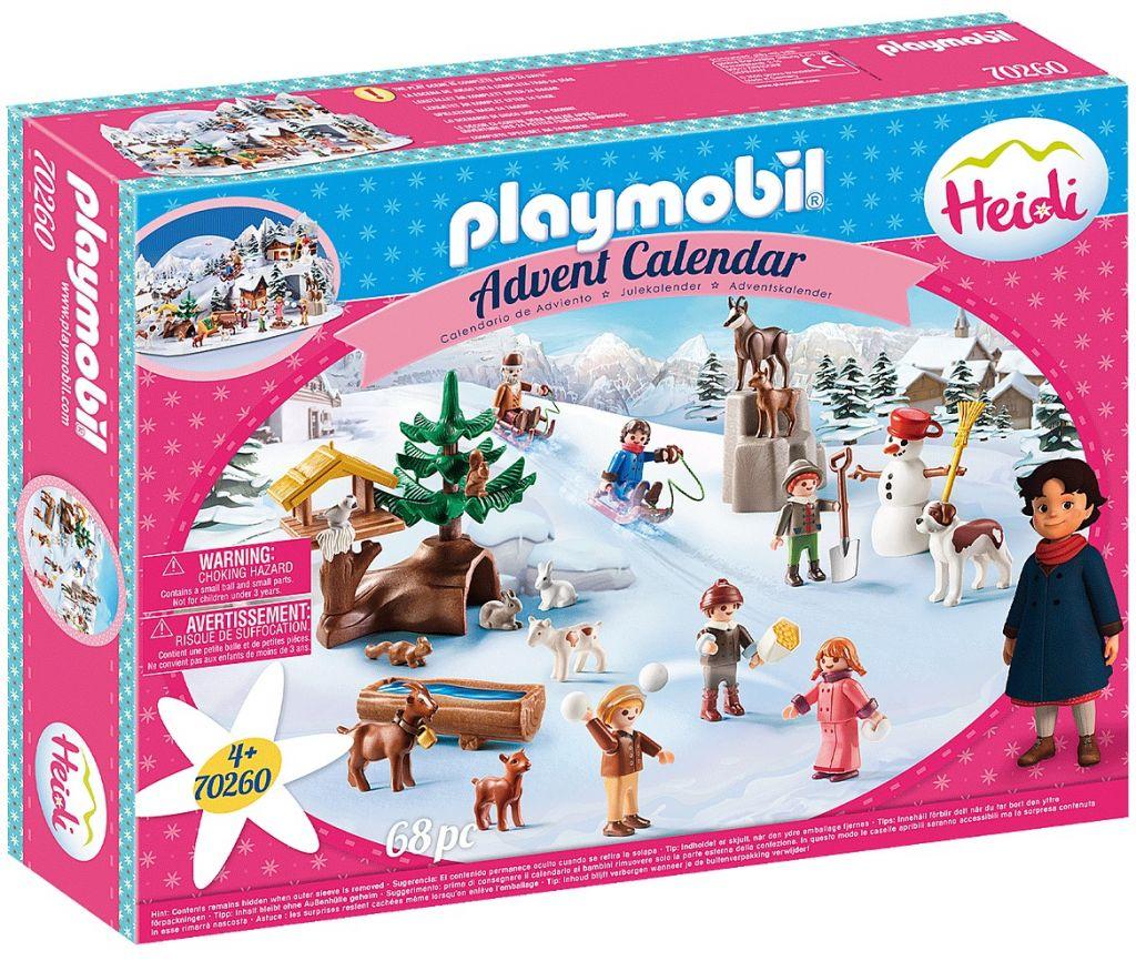 Playmobil 70260 - Advent Calendar - Heidi's Winter World - Box