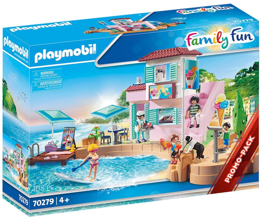 Playmobil 70279 - Ice cream Shop - Box