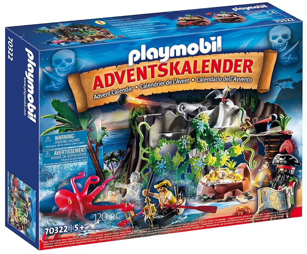 Playmobil 70322 - Pirate Cove Treasure Hunt for the advent - Box