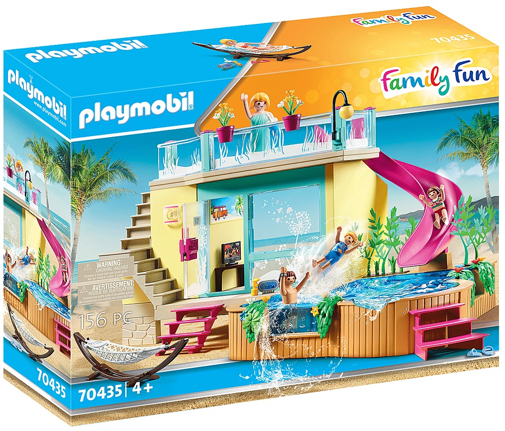 Playmobil 70435 - Bungalow with Pool - Box