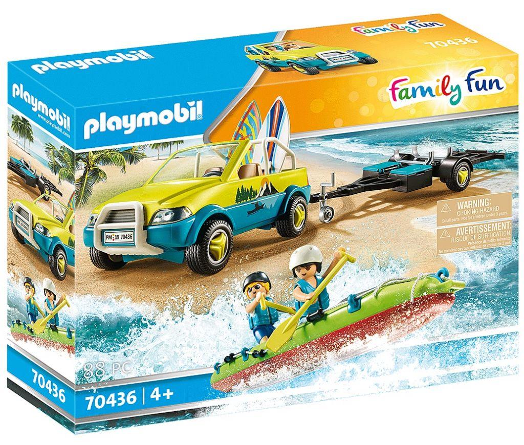 Playmobil 70436 - Beach Car with Canoe - Box