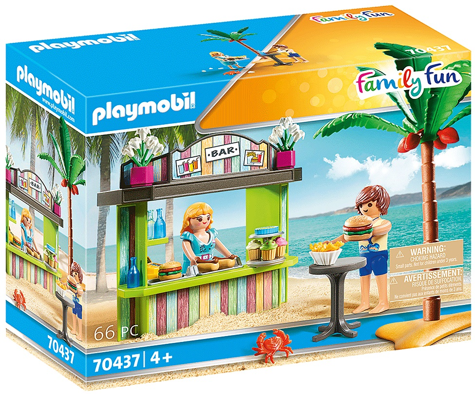 Playmobil 70437 - Beach Snack Bar - Box