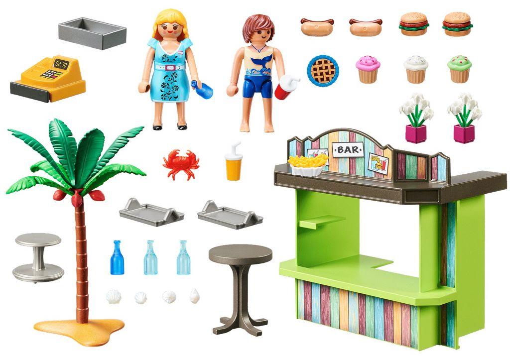 Playmobil 70437 - Beach Snack Bar - Back