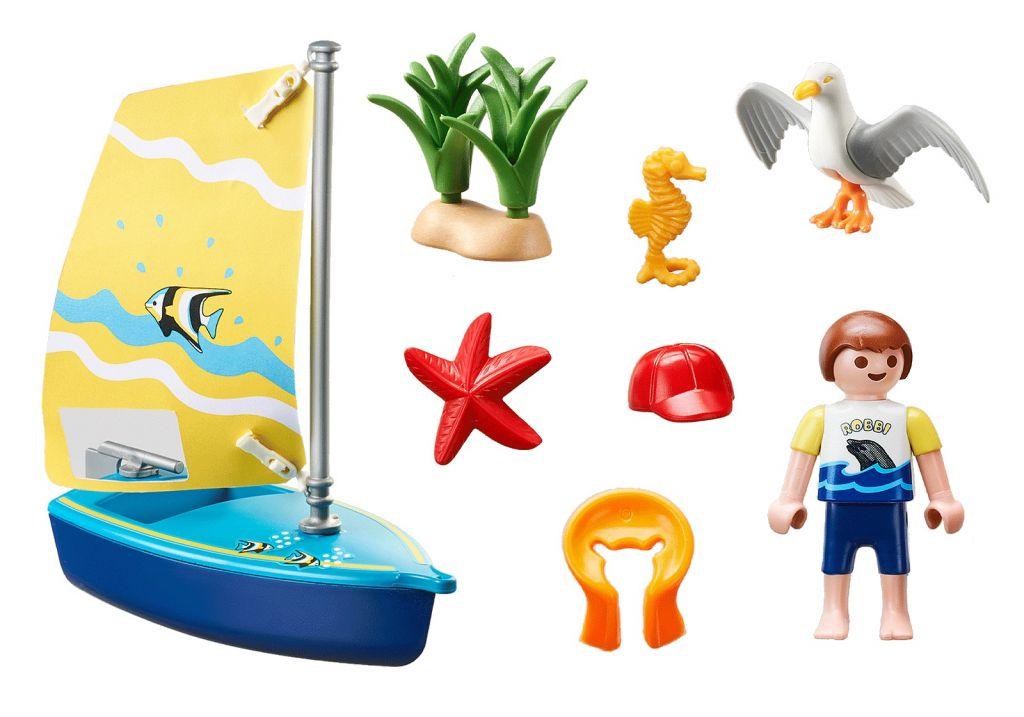 Playmobil 70438 - Sailboat - Back