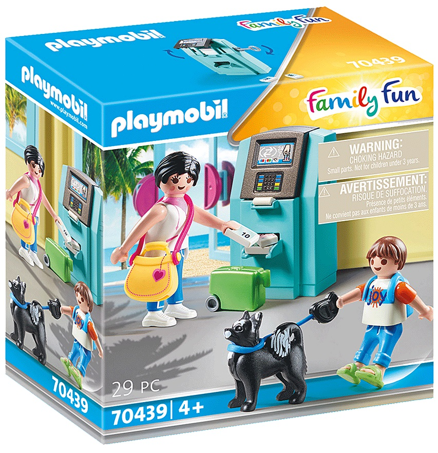 Playmobil 70439 - Tourists with ATM - Box