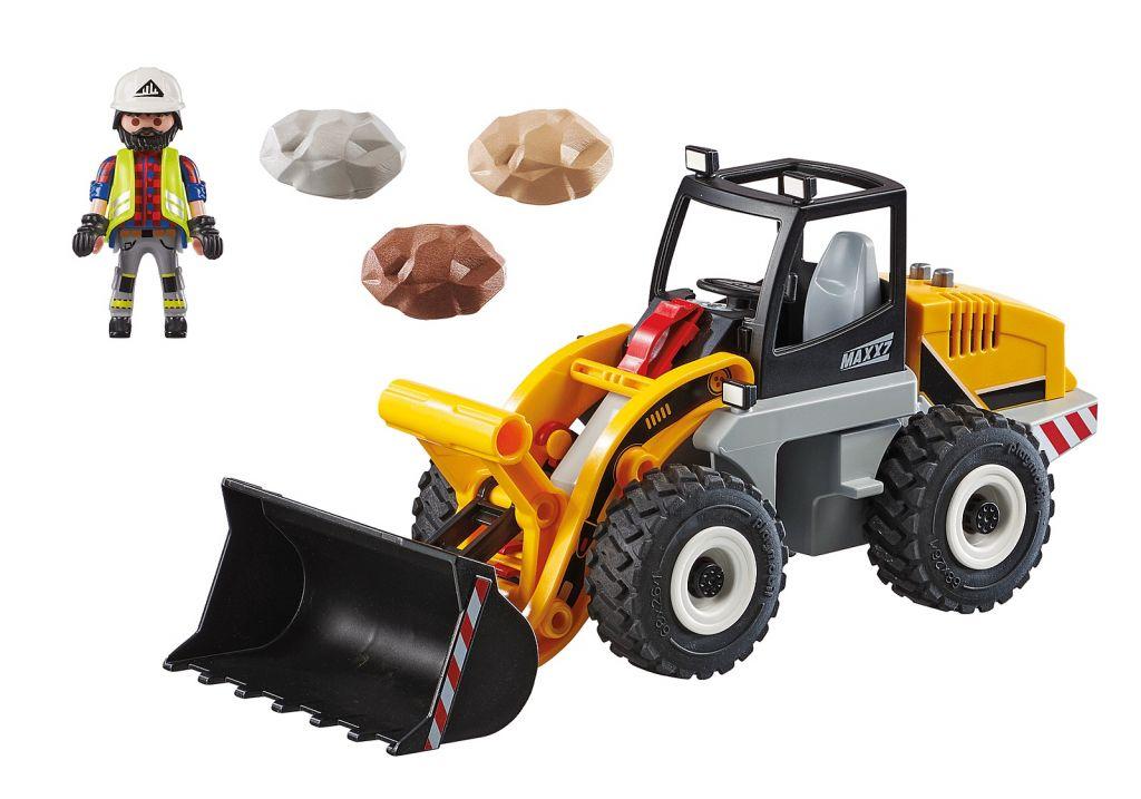 Playmobil 70445 - Wheel Loader - Back