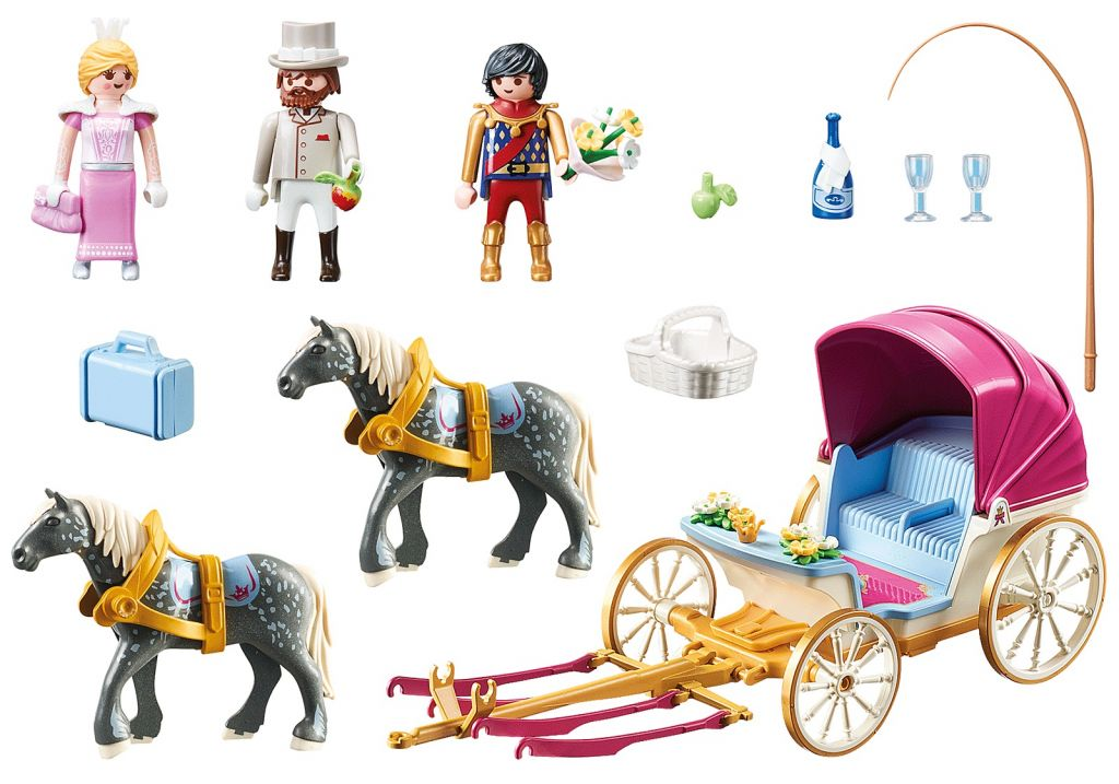 Playmobil 70449 - Horse-Drawn Carriage - Back