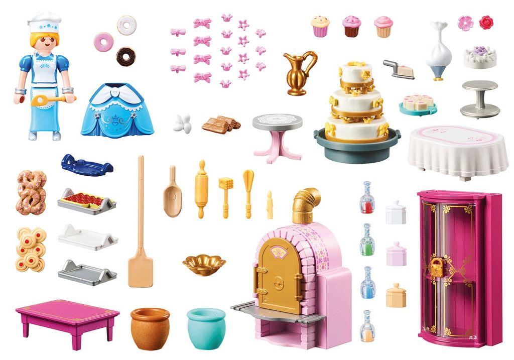 Playmobil 70451 - Castle Bakery - Back