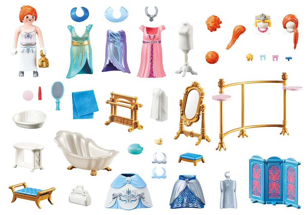 Playmobil 70454 - Dressing Room - Back