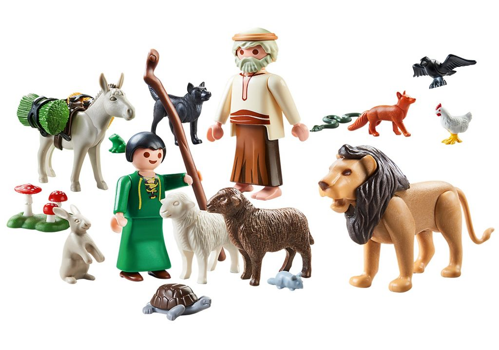 Playmobil 70621-gre - Aesop's Myths - Back
