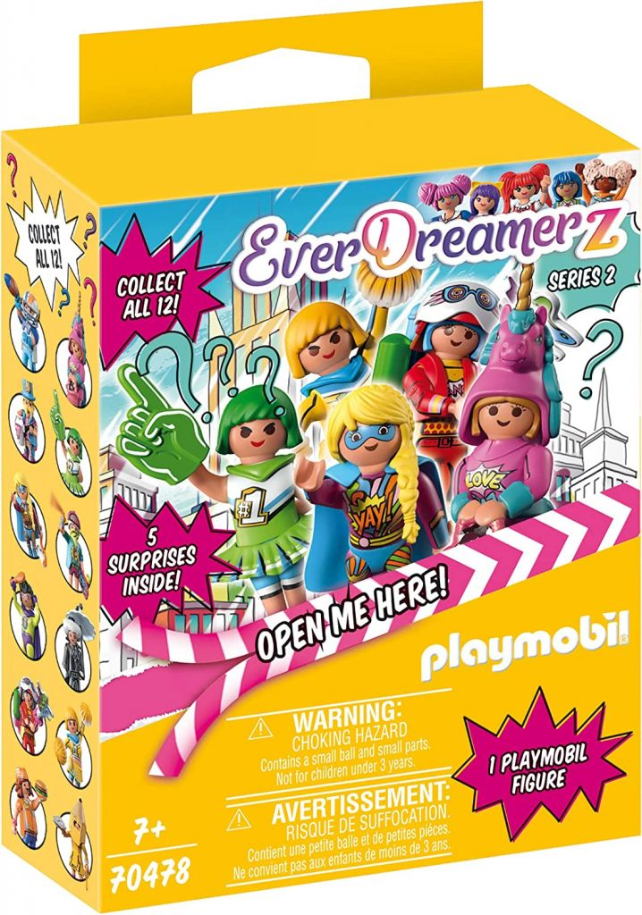 Playmobil 70478-08 - Colorfighter lady - Box