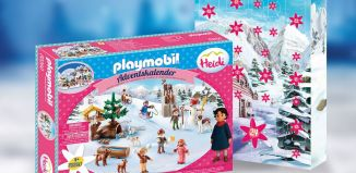 Playmobil - 70260 - Advent Calendar - Heidi's Winter World