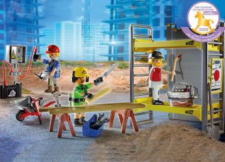 Playmobil - 70446 - Scaffolding with Workers