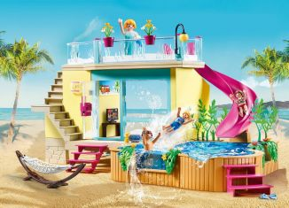 Playmobil - 70435 - Bungalow with Pool