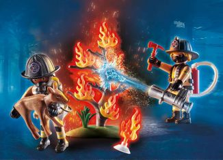 Playmobil - 70488 - Forest Fire