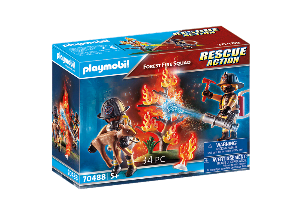 Playmobil 70488 - Forest Fire - Box