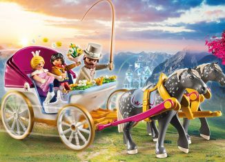 Playmobil - 70449 - Horse-Drawn Carriage