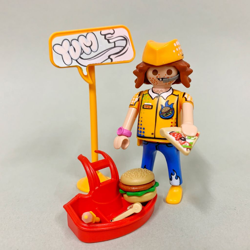 Playmobil 70478-05 - Mr. Fastfood - Back