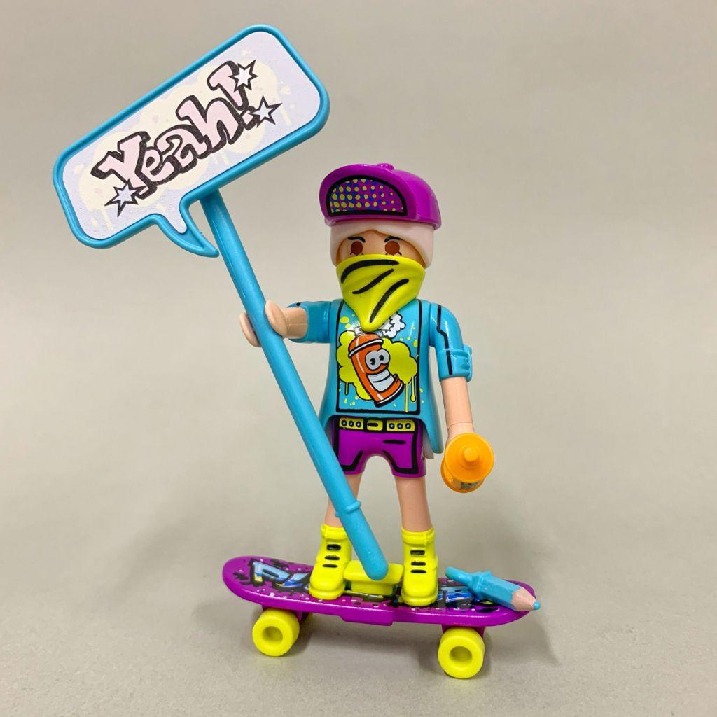 Playmobil 70478-10 - Graffiti-Skater - Back