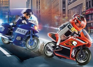 Playmobil - 70462 - Motorcycle Chase