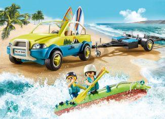 Playmobil - 70436 - Beach Car with Canoe