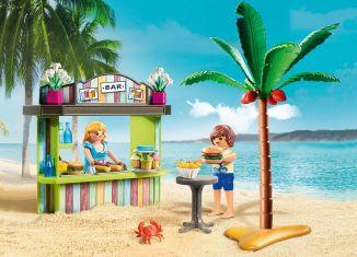 Playmobil - 70437 - Beach Snack Bar