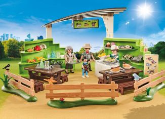Playmobil - 9871 - Zoo restaurant with shop