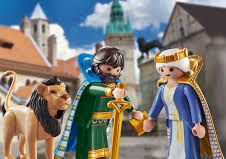 Playmobil - 70315-ger - Heinrich der Löwe and Mathilda