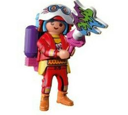 Playmobil - 70478-08 - Colorfighter lady
