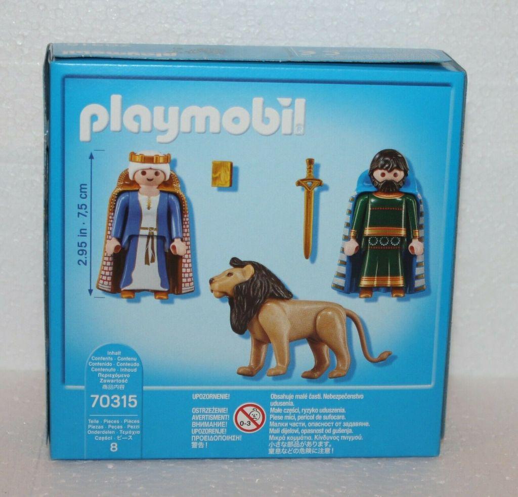 Playmobil 70315-ger - Heinrich der Löwe and Mathilda - Back