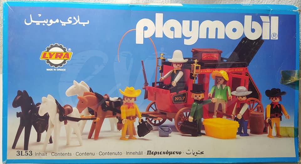 Playmobil 3L53-lyr - Red stagecoach - Box