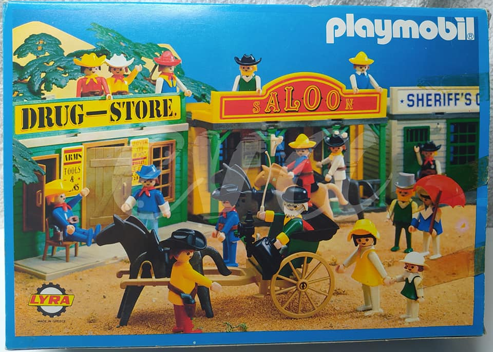 Playmobil 3481-lyr - Western Wagon - Box